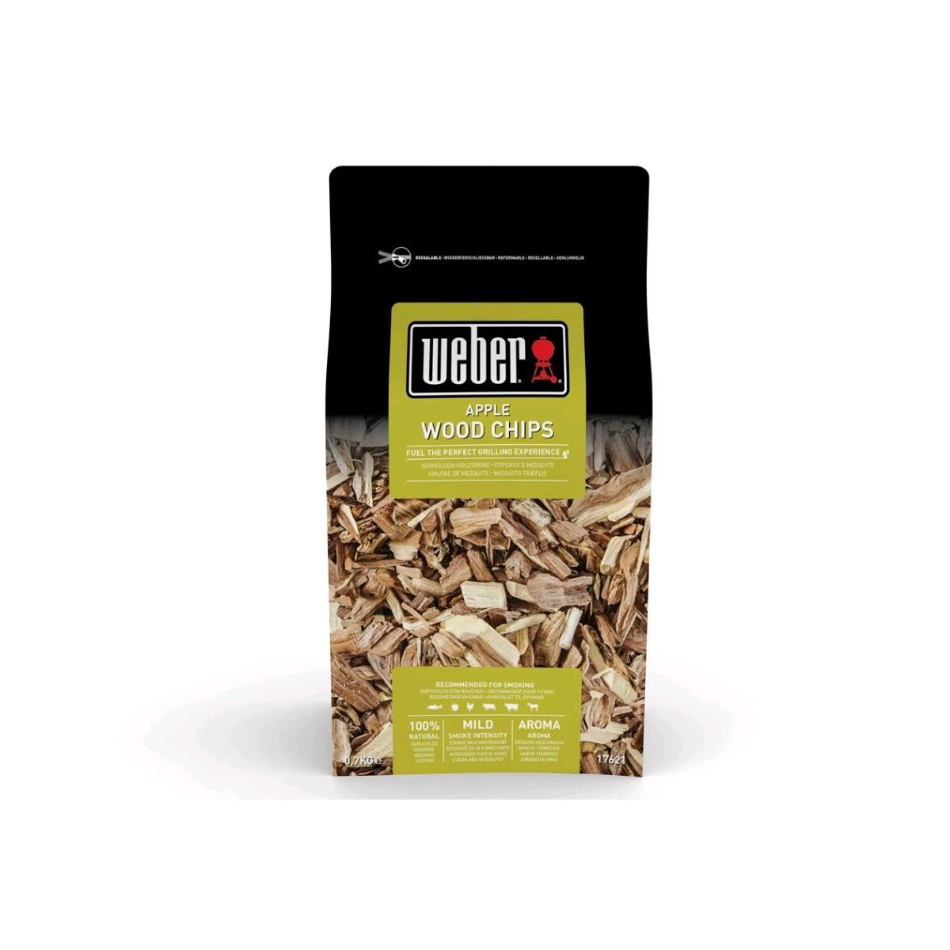 WEBER Chips Affumicatura Aroma MELO Cod.17621
